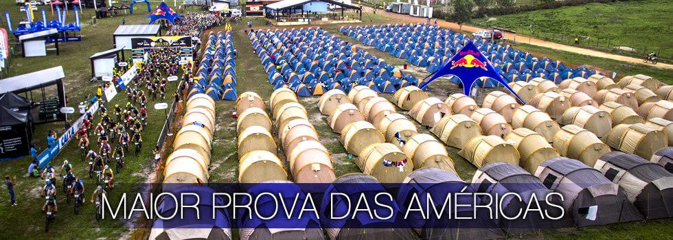 Brasil Rides Maior Prova das Américas Acampamento