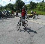 David Sabará 364 dias pedalando