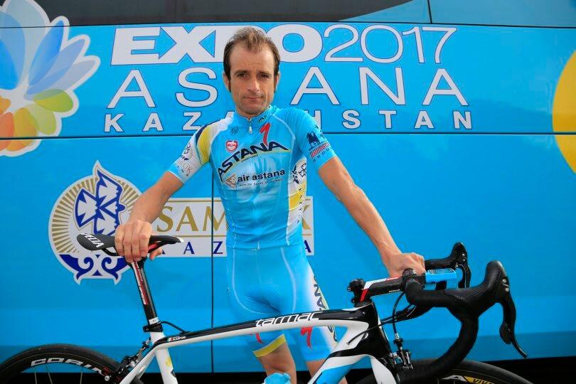 Michele Scarponi equipe Astana 2017