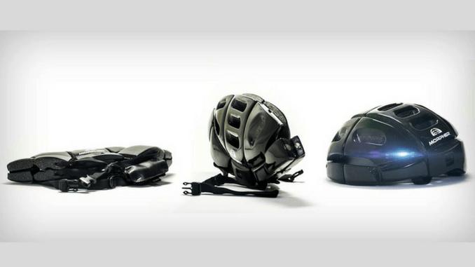 Capacete dobrável Morpher Helmet