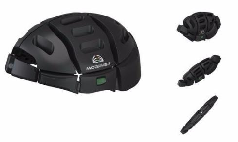 capacetes dobráveis Morpher Helmet